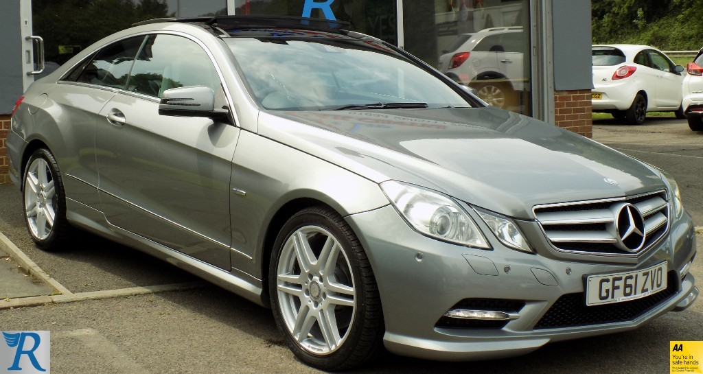 used Mercedes E220 CDI BLUEEFFICIENCY SPORT ED125 in sittingbourne-kent