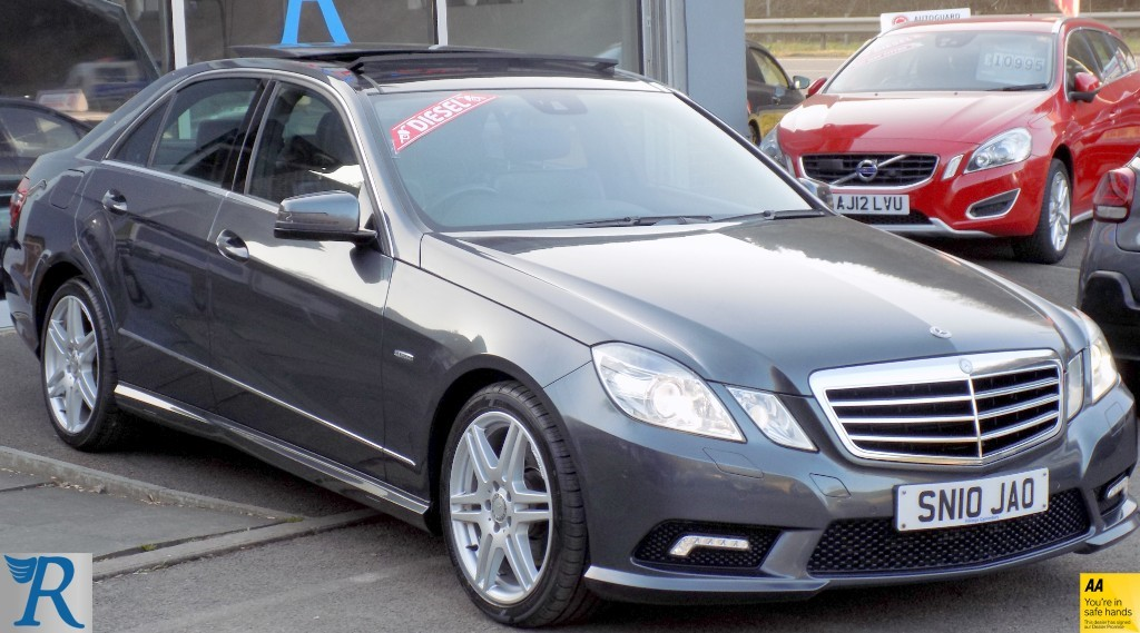 used Mercedes E220 CDI BLUEEFFICIENCY SPORT in sittingbourne-kent