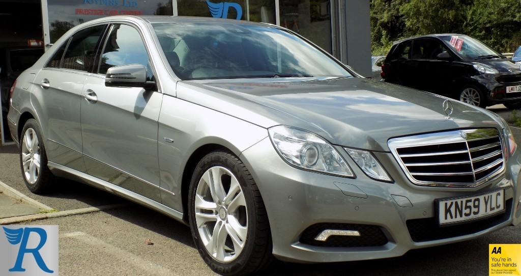 used Mercedes E220 CDI BLUEEFFICIENCY AVANTGARDE in sittingbourne-kent