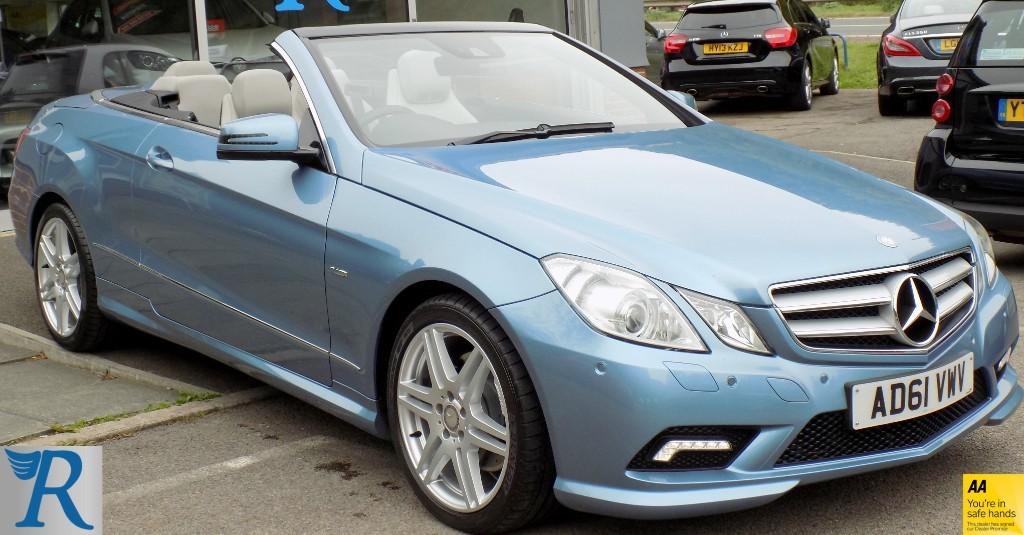 used Mercedes E250 CDI BLUEEFFICIENCY SPORT in sittingbourne-kent