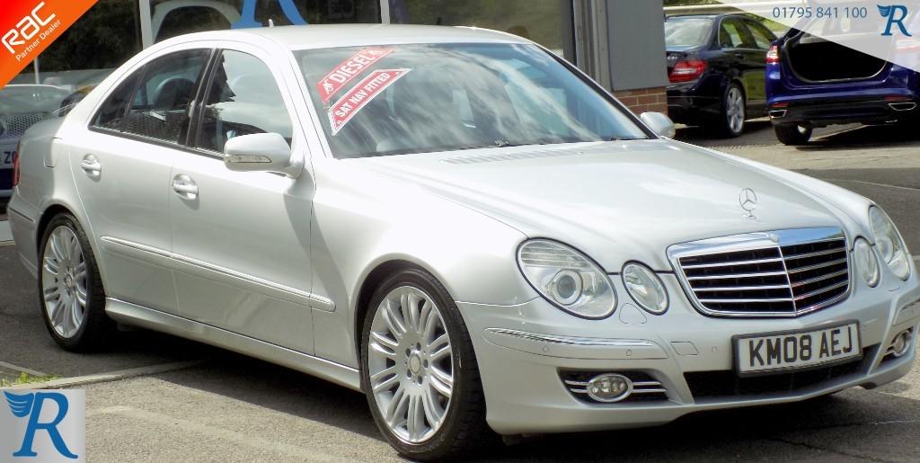 used Mercedes E280 CDI SPORT in sittingbourne-kent