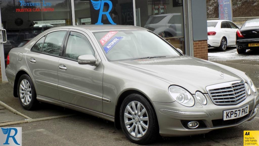 used Mercedes E280 CDI ELEGANCE in sittingbourne-kent