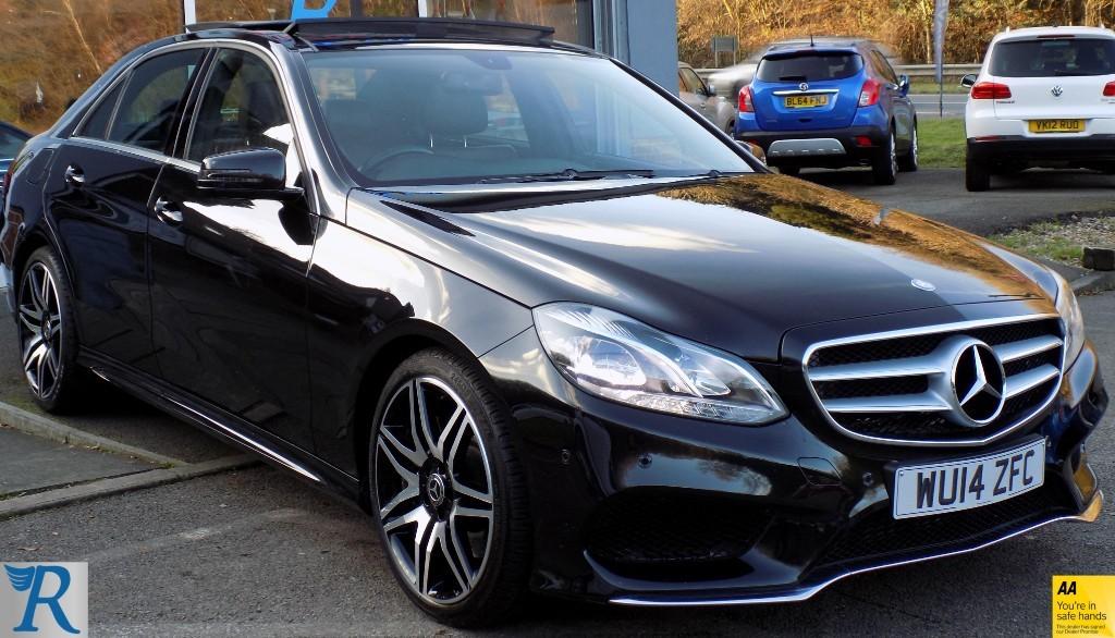 used Mercedes E350 BLUETEC AMG SPORT in sittingbourne-kent
