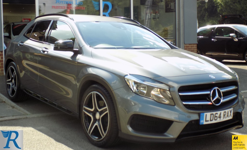 used Mercedes GLA220 CDI 4MATIC AMG LINE in sittingbourne-kent