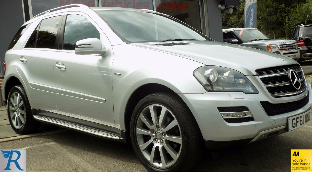 used Mercedes ML300 ML300 CDI BLUEEFFICIENCY GRAND EDITION in sittingbourne-kent