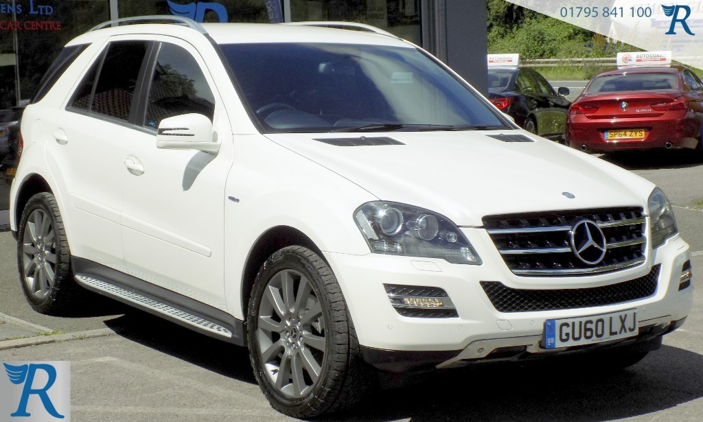 used Mercedes ML350 CDI BLUEEFFICIENCY GRAND EDITION in sittingbourne-kent