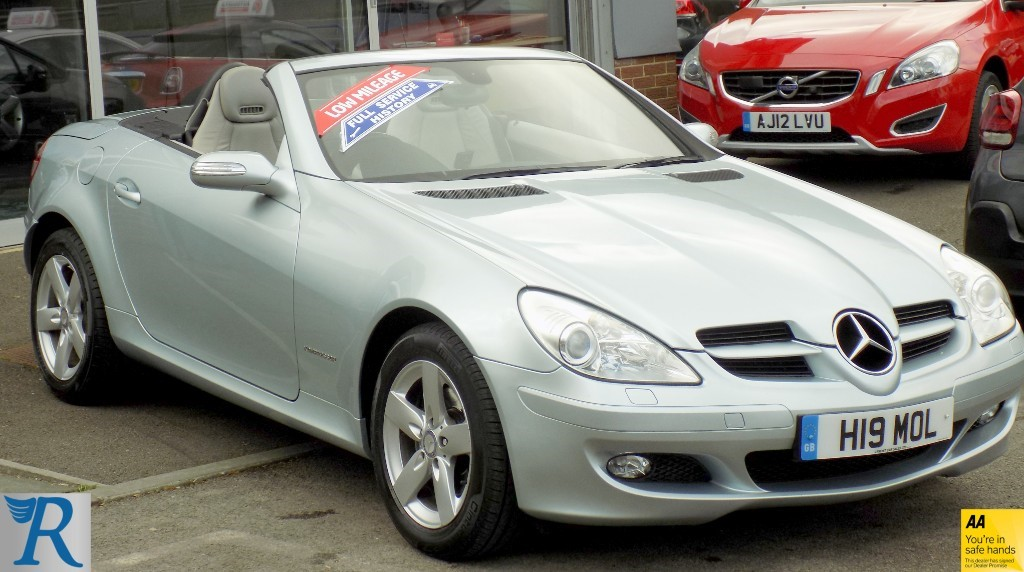 used Mercedes SLK200  in sittingbourne-kent