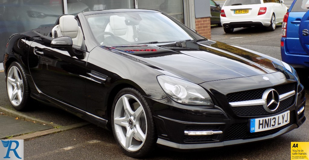 used Mercedes SLK250 SLK250 CDI BLUEEFFICIENCY AMG SPORT in sittingbourne-kent