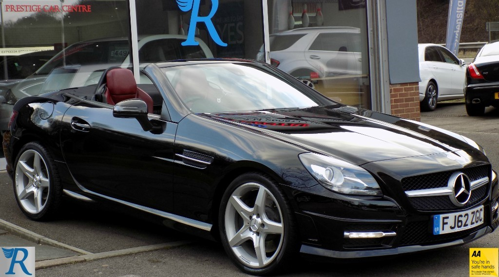 used Mercedes  SLK250 CDI BLUEEFFICIENCY AMG SPORT in sittingbourne-kent