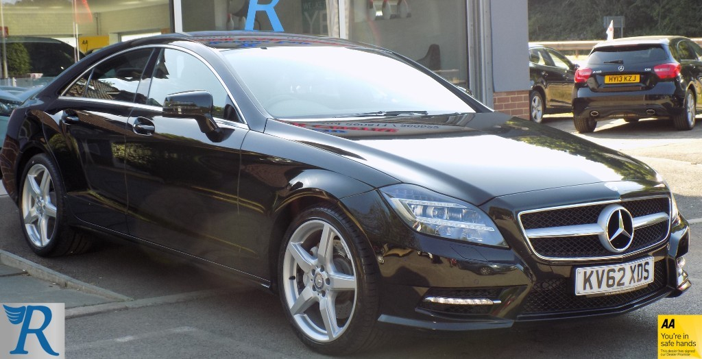 used Mercedes  CLS350 CDI BLUEEFFICIENCY SPORT in sittingbourne-kent