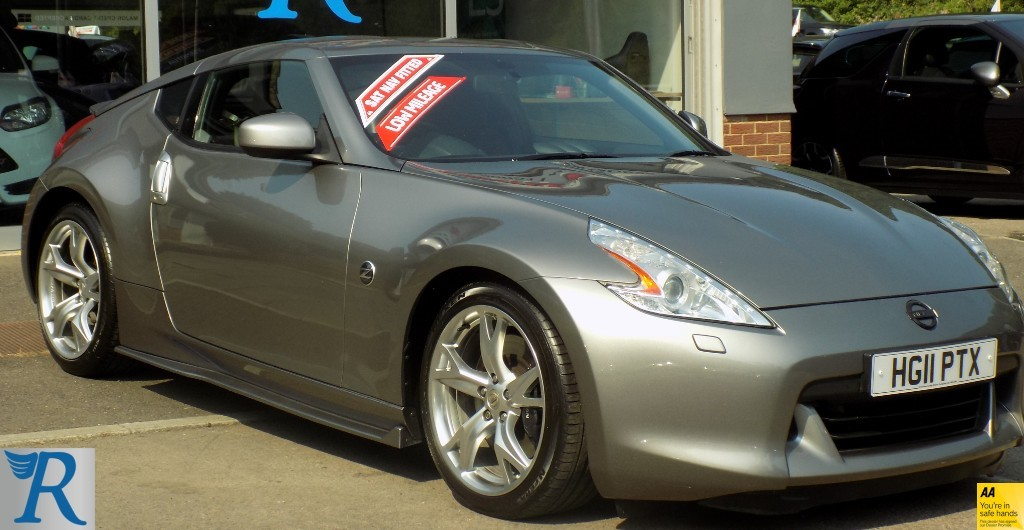 used Nissan 370Z V6 GT in sittingbourne-kent