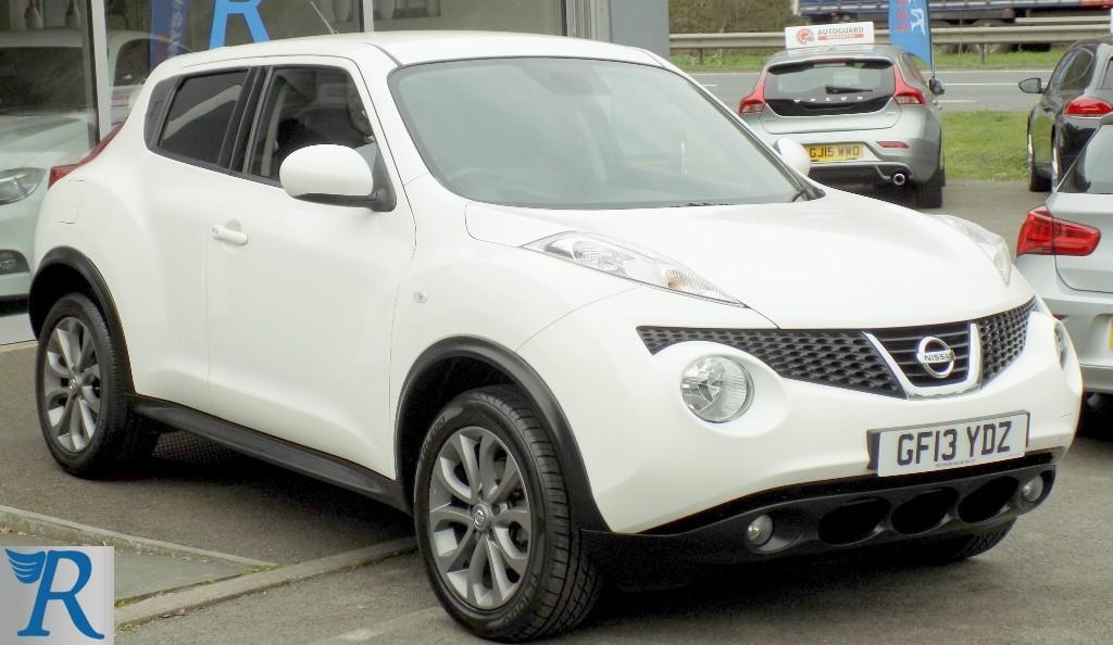 used Nissan Juke TEKNA in sittingbourne-kent