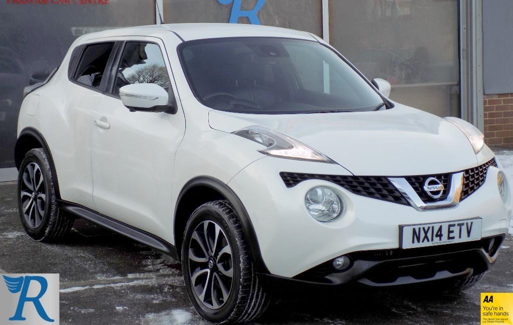 used Nissan Juke TEKNA DCI in sittingbourne-kent