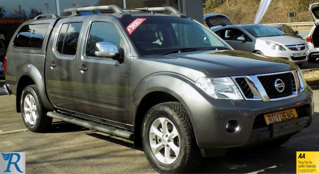 used Nissan Navara Tekna in sittingbourne-kent