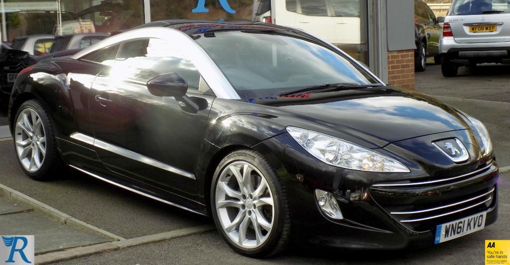 used Peugeot RCZ HDI GT in sittingbourne-kent