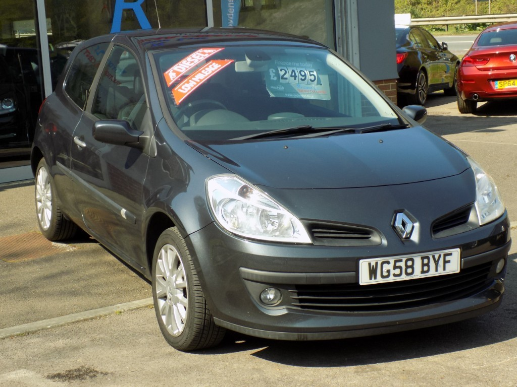 used Renault Clio DYNAMIQUE DCI 86 in sittingbourne-kent