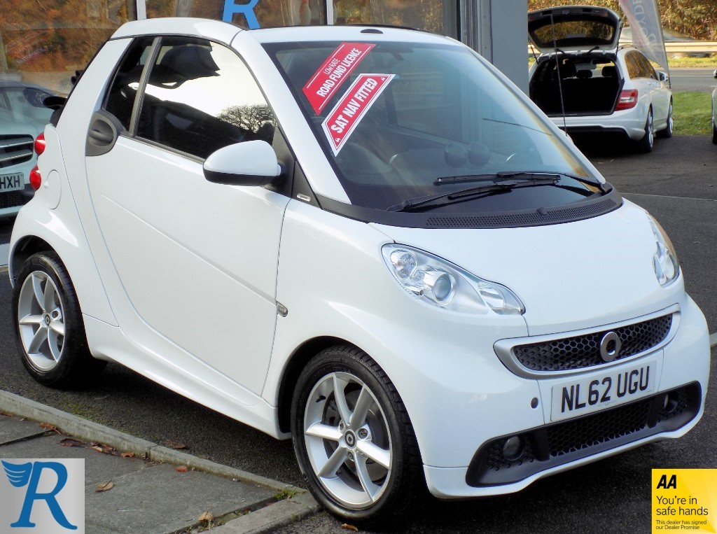 used Smart Car Fortwo Cabrio PULSE MHD in sittingbourne-kent