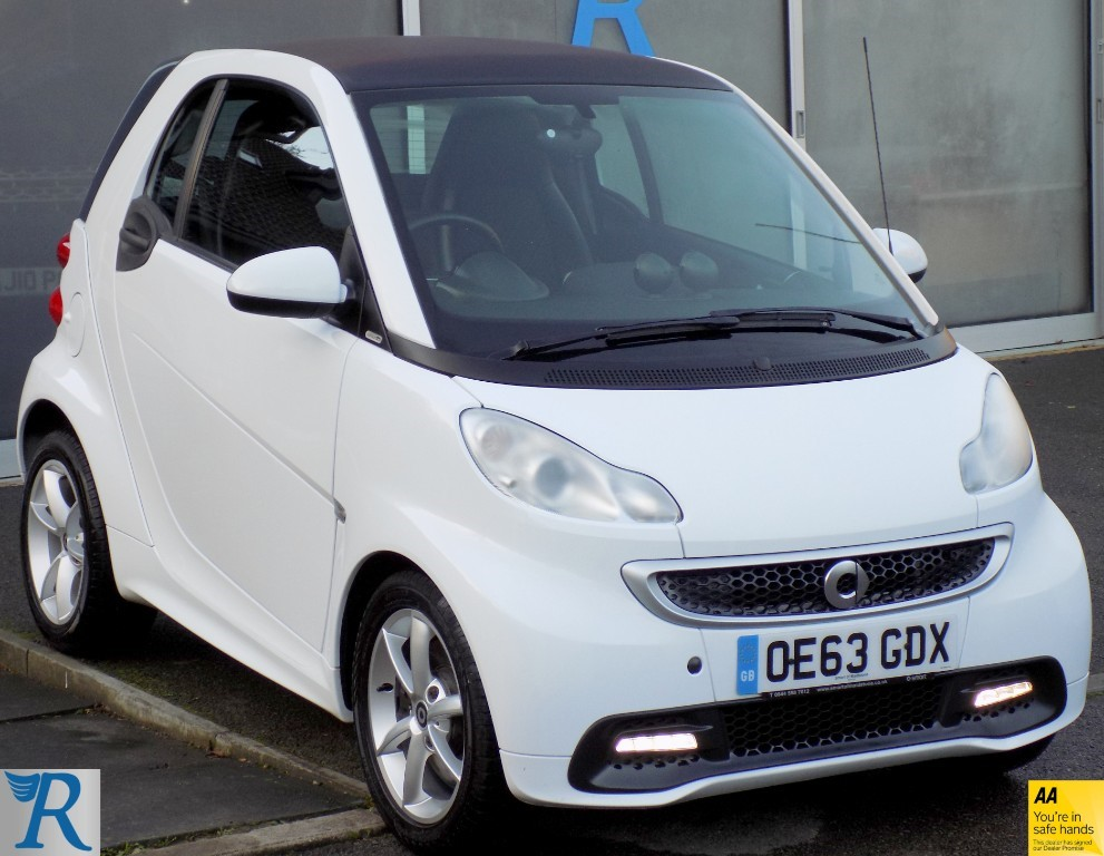 used Smart Car Fortwo Coupe EDITION 21 MHD in sittingbourne-kent