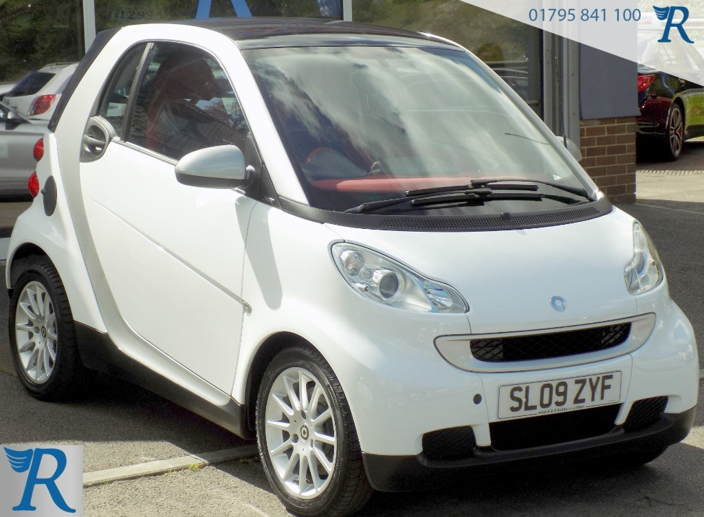 used Smart Car Fortwo Coupe PASSION MHD in sittingbourne-kent