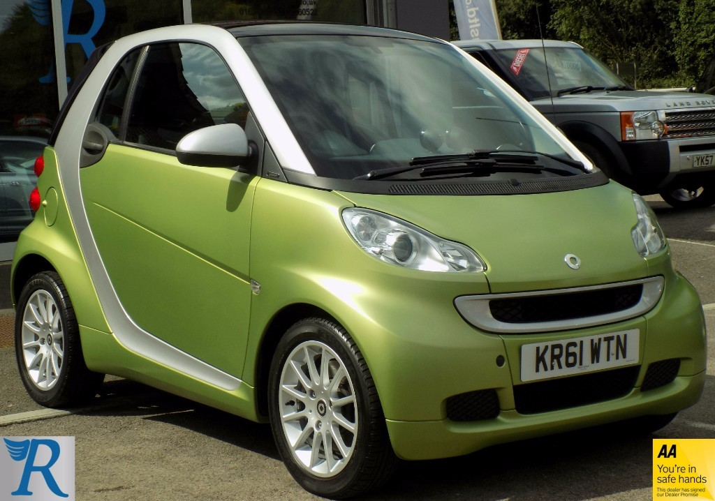 used Smart Car Fortwo COUPE PASSION MHD PASSION MHD in sittingbourne-kent
