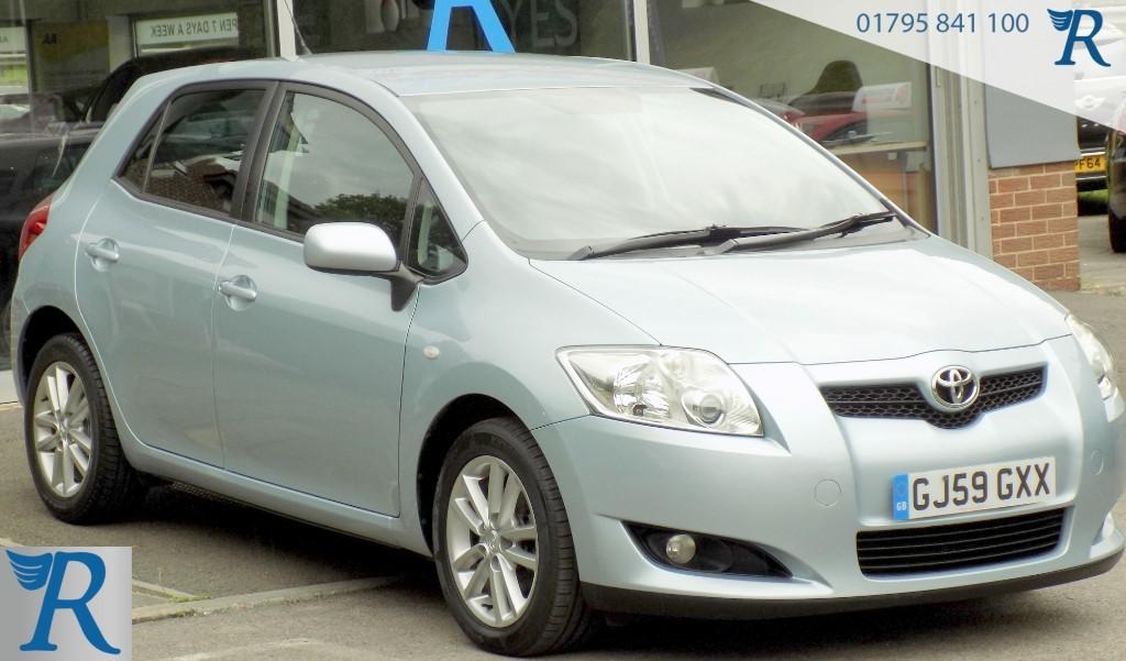 used Toyota Auris VVT-I TR STOPSTART in sittingbourne-kent