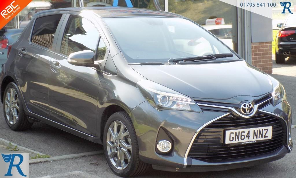 used Toyota Yaris VVT-I EXCEL in sittingbourne-kent