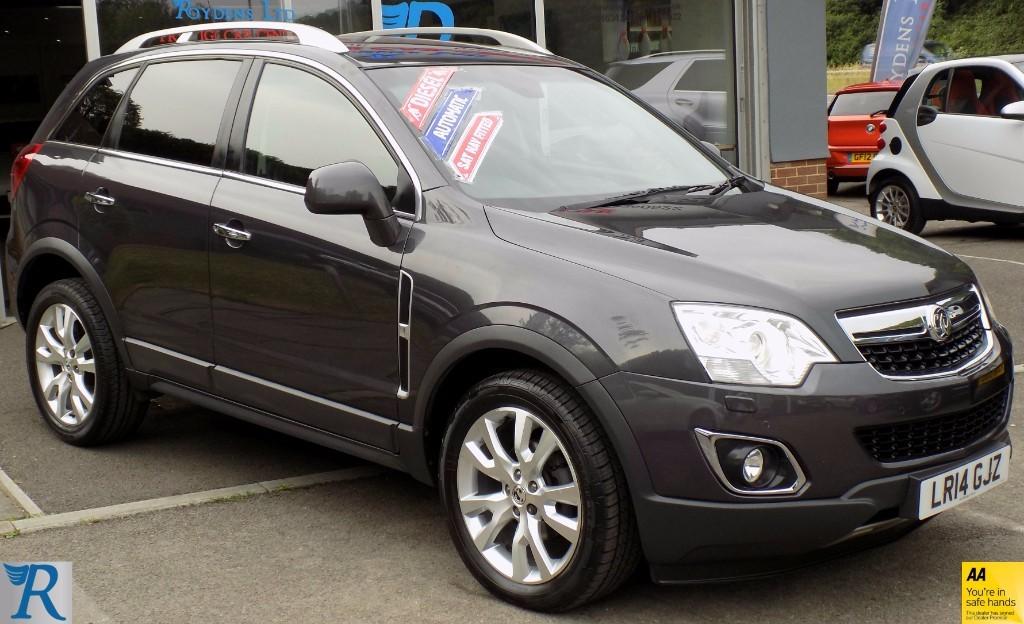 used Vauxhall Antara SE NAV CDTI in sittingbourne-kent