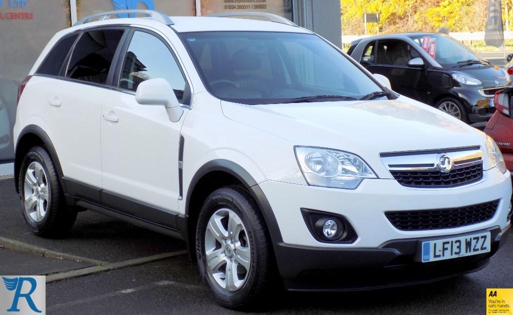 used Vauxhall Antara EXCLUSIV CDTI S/S in sittingbourne-kent