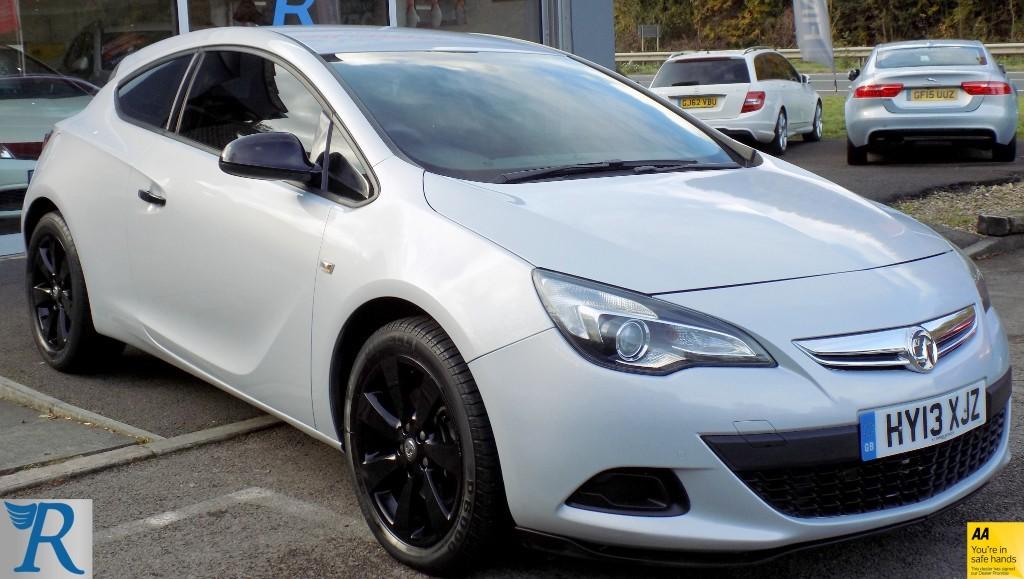 used Vauxhall Astra GTC SPORT in sittingbourne-kent