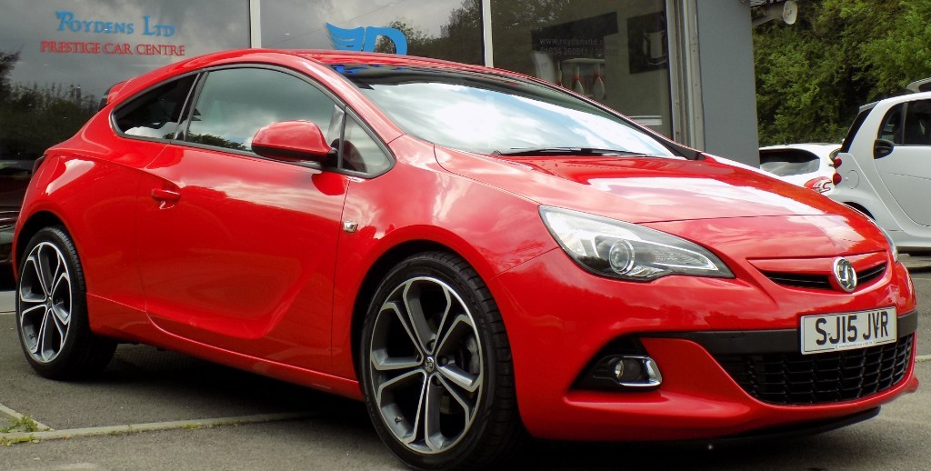 used Vauxhall Astra GTC LIMITED EDITION S/S in sittingbourne-kent
