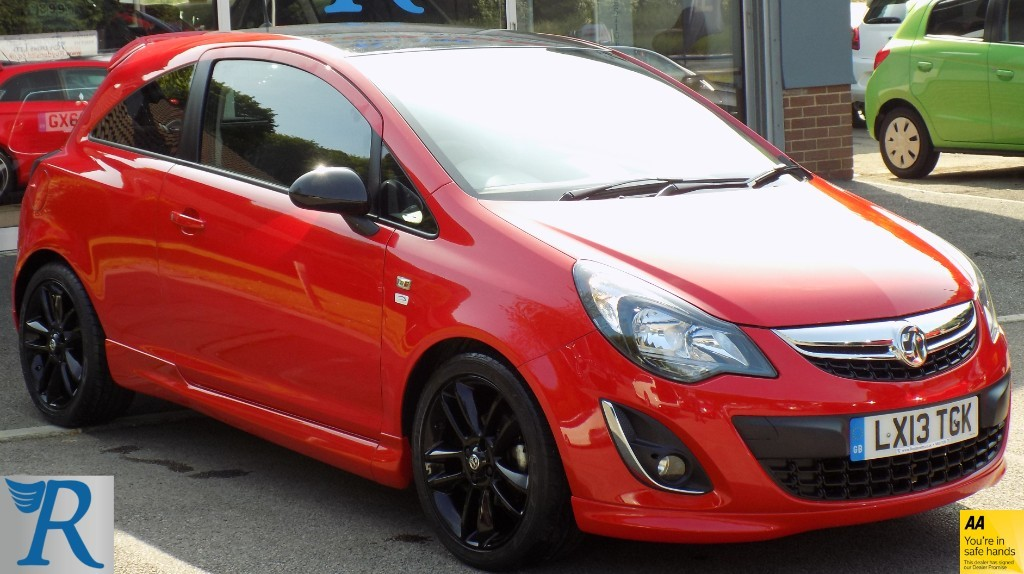 used Vauxhall Corsa LIMITED EDITION in sittingbourne-kent
