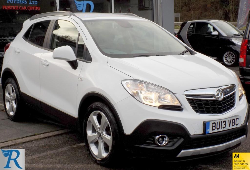 used Vauxhall Mokka EXCLUSIV S/S in sittingbourne-kent