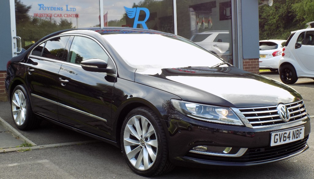 used VW CC GT TDI BLUEMOTION TECHNOLOGY DSG in sittingbourne-kent
