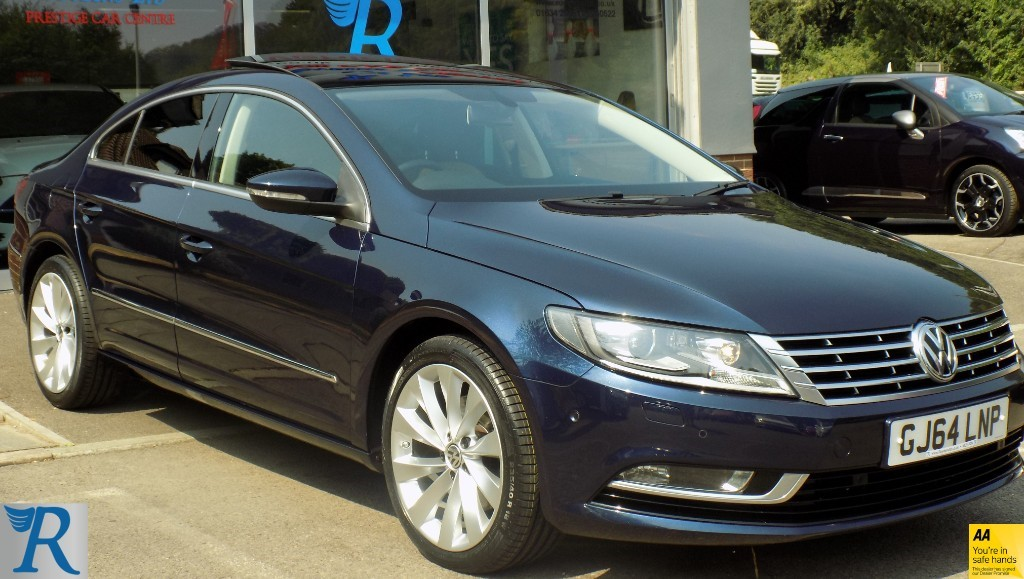 used VW CC GT TDI BLUEMOTION TECHNOLOGY DSG in sittingbourne-kent