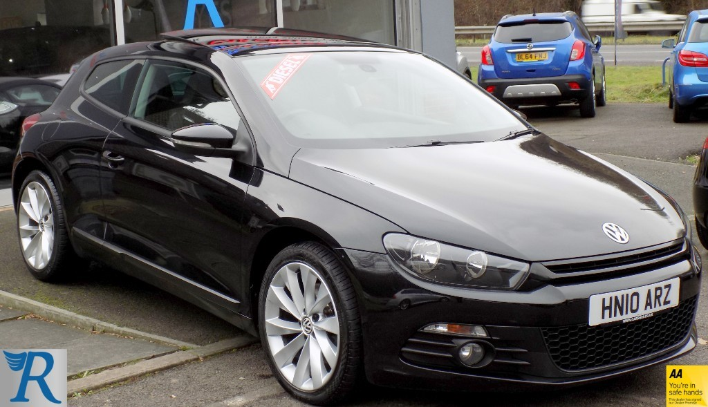 used VW Scirocco GT TDI in sittingbourne-kent
