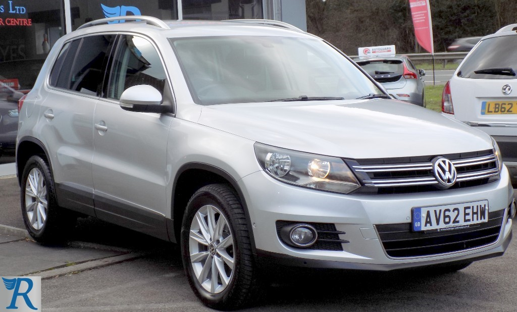 used VW Tiguan SE TDI BLUEMOTION TECHNOLOGY 4MOTION in sittingbourne-kent