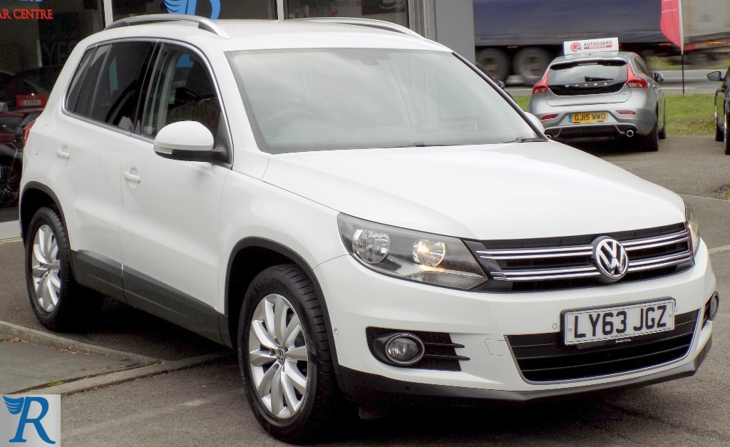 used VW Tiguan MATCH TDI BLUEMOTION TECHNOLOGY in sittingbourne-kent