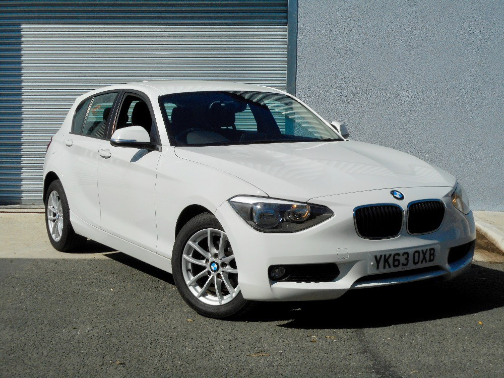 used alpine white bmw 116d for sale devon. Black Bedroom Furniture Sets. Home Design Ideas