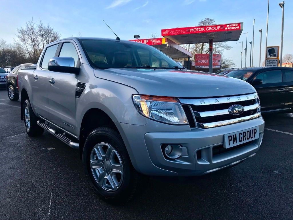 used Ford Ranger LIMITED 4X4 DCB TDCI in neath-south-wales