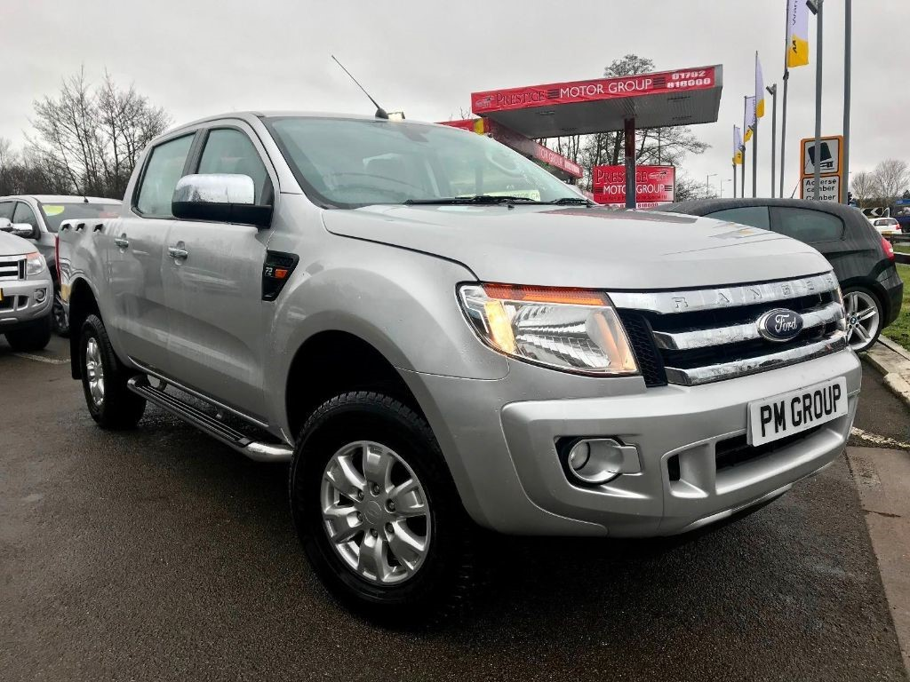 used Ford Ranger XLT 4X4 DCB TDCI in neath-south-wales