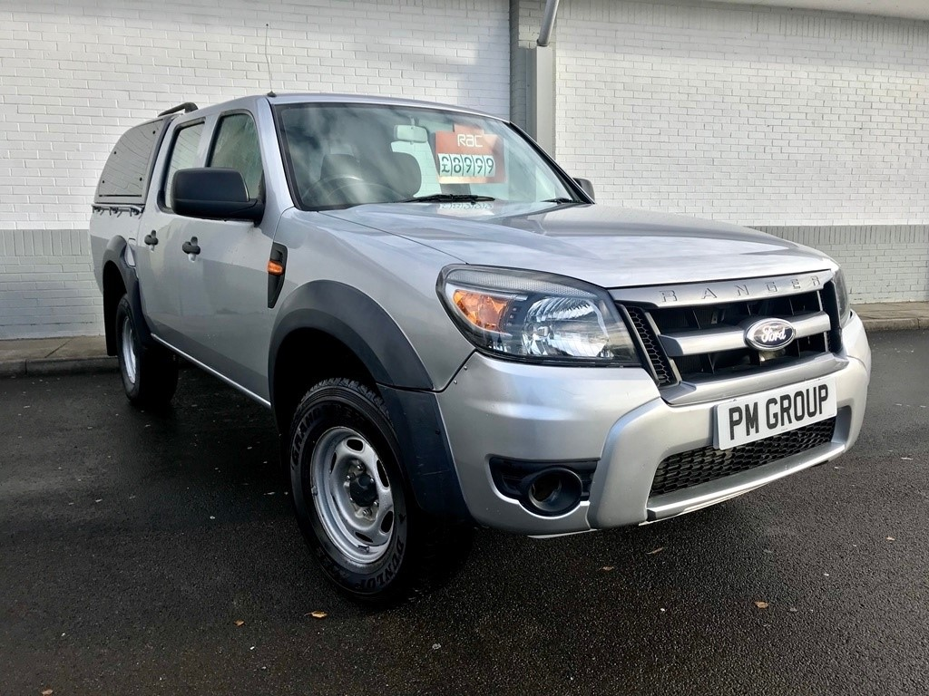 used Ford Ranger TDCi XL Double Cab Pickup 4x4 4dr in neath-south-wales
