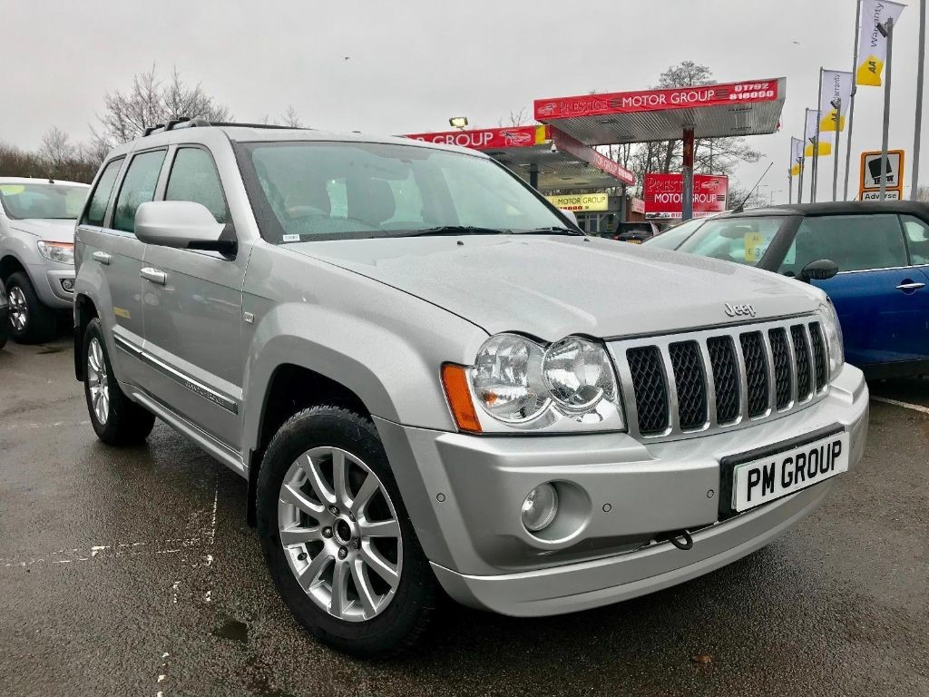 used Jeep Grand Cherokee V6 CRD OVERLAND in neath-south-wales