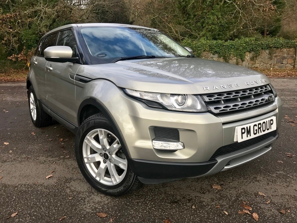 used Land Rover Range Rover Evoque SD4 Pure Hatchback AWD 5dr in neath-south-wales