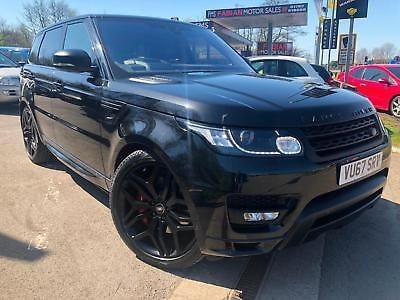 used Land Rover Range Rover Sport SDV6 AUTOBIOGRAPHY DYNAMIC in neath-south-wales