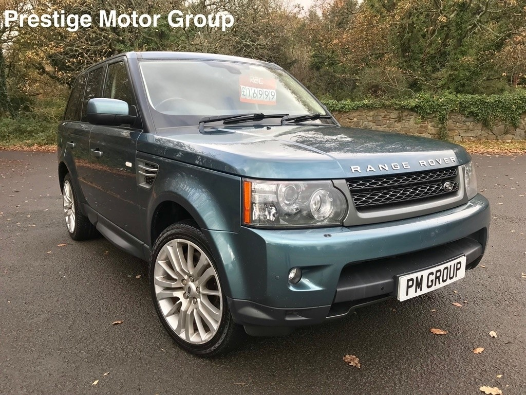 used Land Rover Range Rover Sport TD V6 HSE 5dr in neath-south-wales