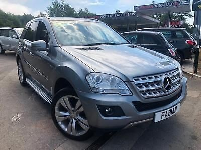 used Mercedes ML300 CDI BLUEEFFICIENCY SPORT in neath-south-wales