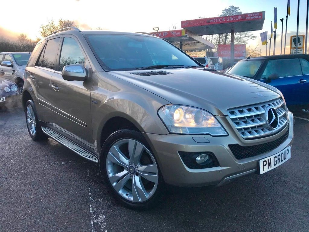 used Mercedes ML350 CDI BLUEEFFICIENCY SPORT in neath-south-wales