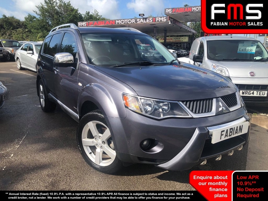used Mitsubishi Outlander INTENSE WARRIOR H-LINE DI-D in neath-south-wales