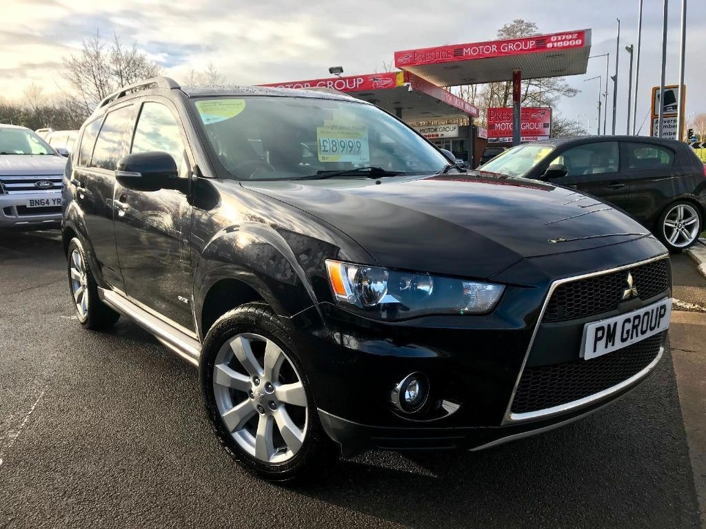 used Mitsubishi Outlander DI-D GX 4 in neath-south-wales