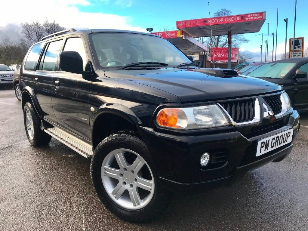 used Mitsubishi Shogun Sport TROJAN in neath-south-wales